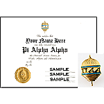 PAA Certificate & Pin Combination